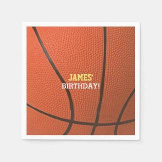Basketball Celebration Personalized Disposable Napkin