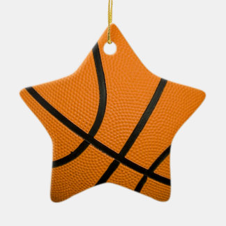 Basketball Ceramic Ornament