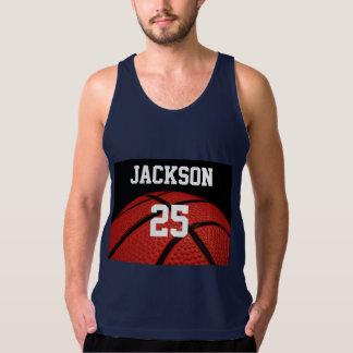 Basketball Close-up Sports custom clothes Tank Top