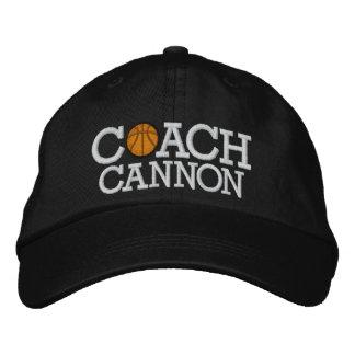 Basketball Coach Cap - SRF Embroidered Baseball Caps