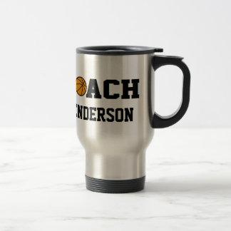 Basketball Coach - Personalized Coffee Mugs