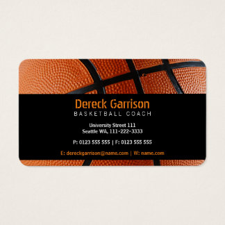 Custom Basketball Training Business Cards Zazzle Ca