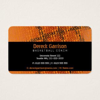 Basketball Coach | Sport Business Card