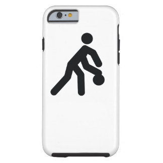 BASKETBALL | cool sport icon Tough iPhone 6 Case