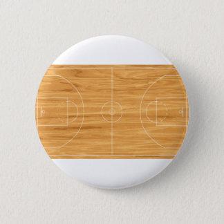Basketball Court 2 Inch Round Button