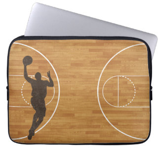 Basketball Court Boy Laptop Sleeve