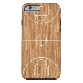 Basketball Court Case Cover Tough iPhone 6 Case