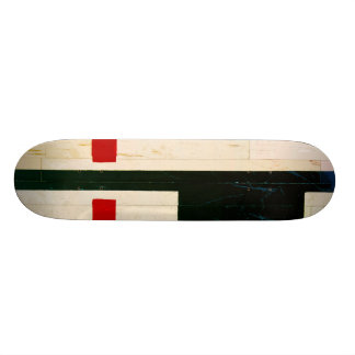 Basketball Court Lines and Markings Skateboard Deck
