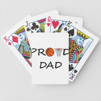 Basketball DAD Bicycle Playing Cards