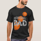Basketball DAD black t-shirt