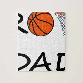 Basketball DAD Jigsaw Puzzle