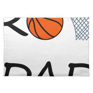 Basketball DAD Placemat