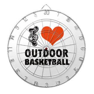 basketball design dartboard