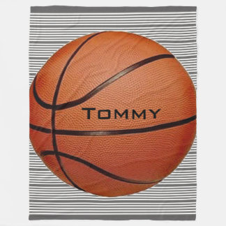 Basketball Design Fleece Blanket