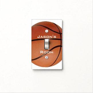 Basketball Design Light Switch Cover