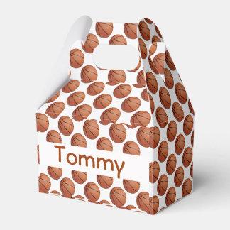 Basketball Design Party Favor Box