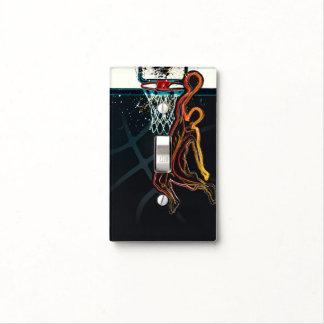 Basketball Dunk Jump Shot Modern Urban Cool Light Switch Cover