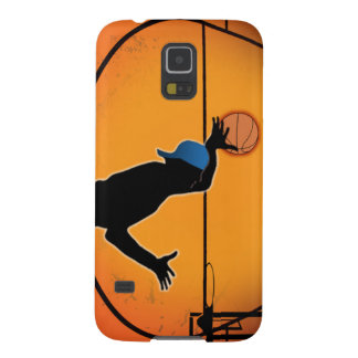 Basketball Dunk Silhouette Galaxy S5 Covers