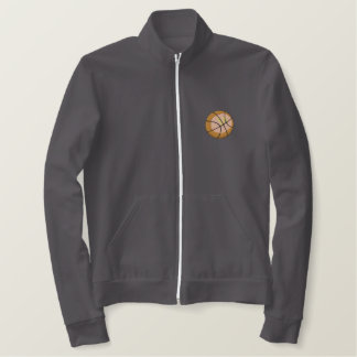 Basketball Embroidered Jacket