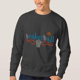 Basketball Embroidered Sweatshirt