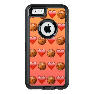 Basketball Emoji iPhone 6/6s Otterbox Case