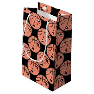 Basketball Emoji Small Gift Bag