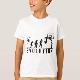 Basketball Evolution of Man T-Shirt