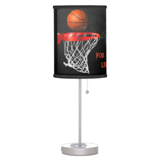Basketball For Life Table Lamp
