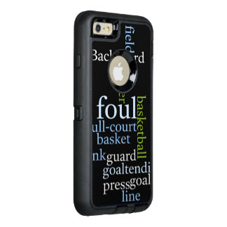 Basketball full court Custom OtterBox Apple iPhone OtterBox iPhone 6/6s Plus Case