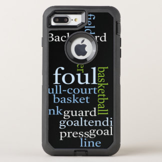 Basketball full court OtterBox Apple iPhone OtterBox Defender iPhone 7 Plus Case