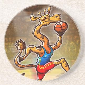 Basketball Giraffe Coaster