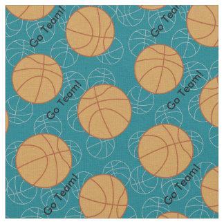 Basketball Go Team Fabric