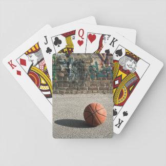 Basketball & Graffiti Poker Deck