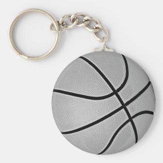 Basketball Grey / Grey Keychain