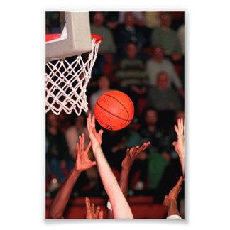 Basketball Hands Photograph