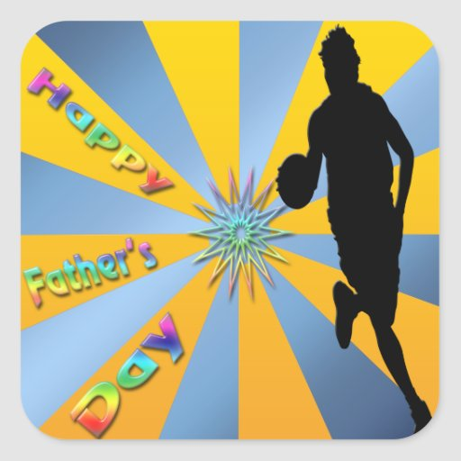 Basketball - Happy Father's Day Sticker