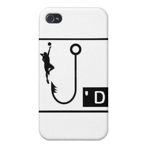 Basketball Hooked Ladies iPhone 4/4S Cases