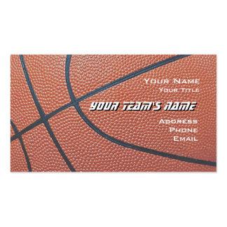 Basketball Hoop Net_texture look_hoop net on blue Business Card