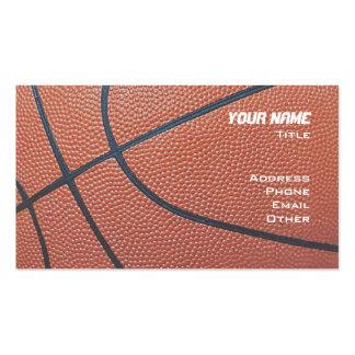 Basketball Hoop Net_texture_red,white,blue Business Card Template
