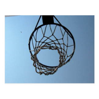 Basketball hoop postcards