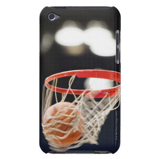 Basketball in basket. iPod touch cover