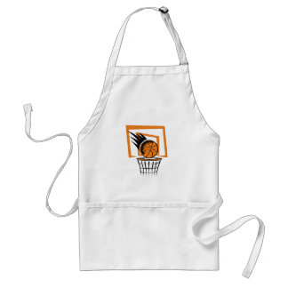 Basketball in the Basket Standard Apron