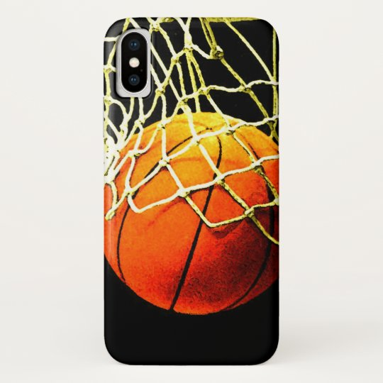 Basketball iPhone X Case