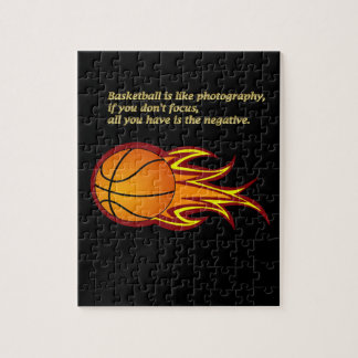 Basketball is like photography #6 puzzle
