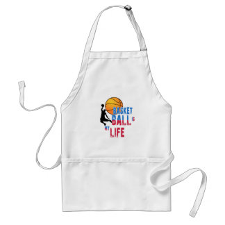 Basketball is my life standard apron