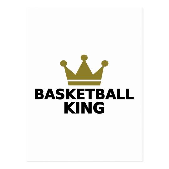 Basketball King Postcard