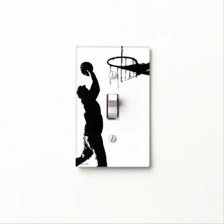 BASKETBALL LIGHT SWITCH COVER