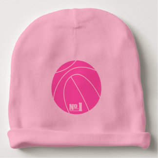 Basketball lines baby beanie