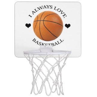 basketball love sport passion mini basketball hoop
