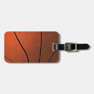 Basketball Luggage Tags